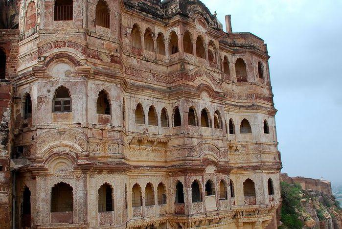 Крепость Мехрангарх - Mehrangarh fort, Jodhpur 20297
