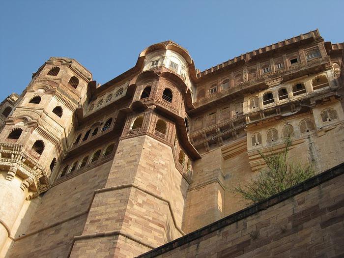 Крепость Мехрангарх - Mehrangarh fort, Jodhpur 28935