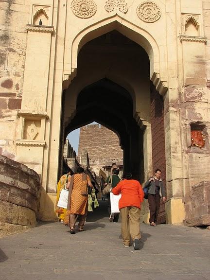 Крепость Мехрангарх - Mehrangarh fort, Jodhpur 58468
