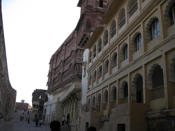 Крепость Мехрангарх - Mehrangarh fort, Jodhpur 54778
