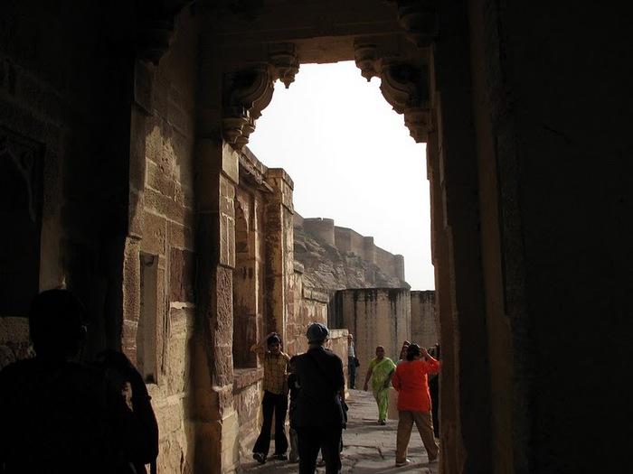 Крепость Мехрангарх - Mehrangarh fort, Jodhpur 84242