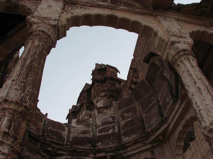 Крепость Мехрангарх - Mehrangarh fort, Jodhpur 50285