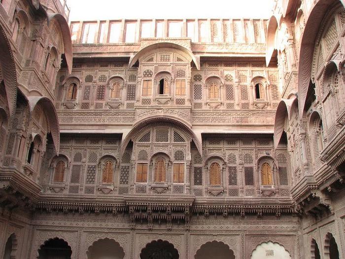 Крепость Мехрангарх - Mehrangarh fort, Jodhpur 19462