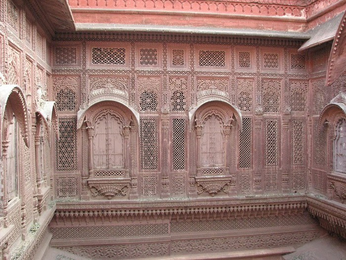 Крепость Мехрангарх - Mehrangarh fort, Jodhpur 51884