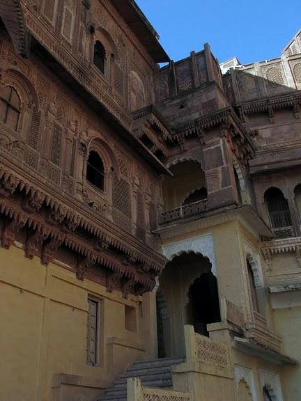 Крепость Мехрангарх - Mehrangarh fort, Jodhpur 76659
