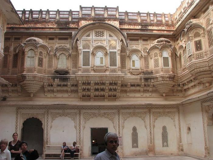Крепость Мехрангарх - Mehrangarh fort, Jodhpur 62046