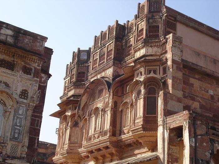 Крепость Мехрангарх - Mehrangarh fort, Jodhpur 83100