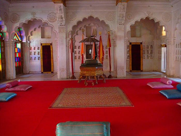 Крепость Мехрангарх - Mehrangarh fort, Jodhpur 16414