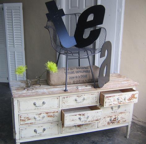 Как сделать состаренную мебель