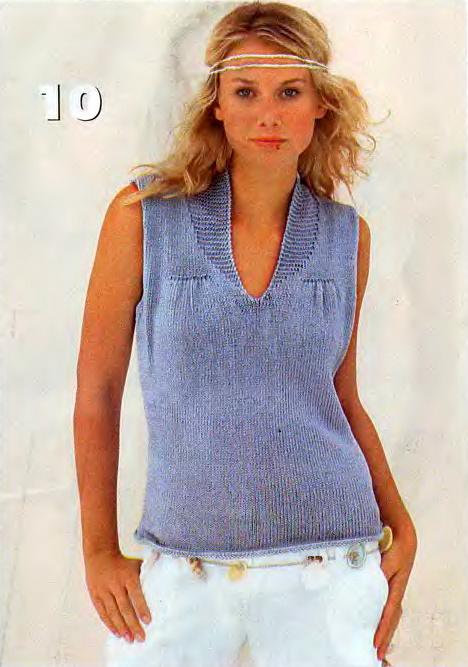 Вязание на спицах для женщин-летние модели