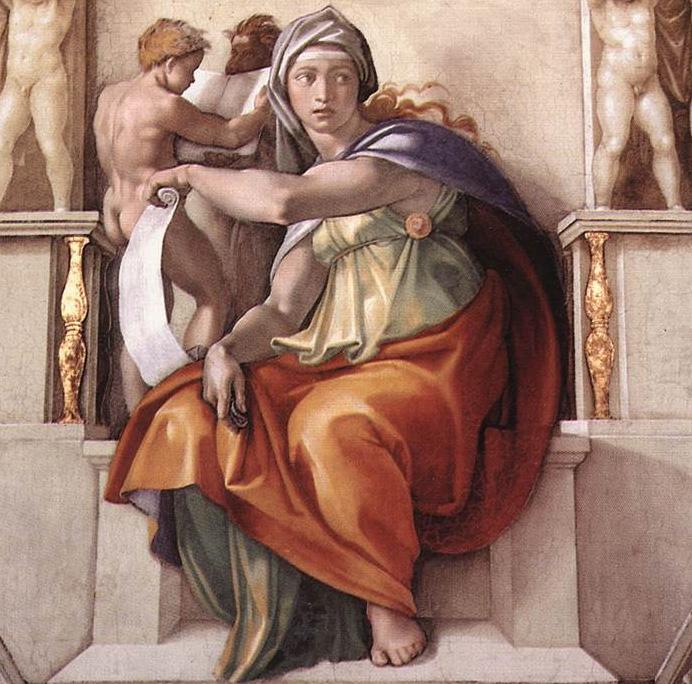 The Delphic Sibyl (692x684, 238Kb)