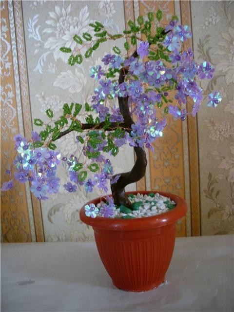 открытки цветы из бисера