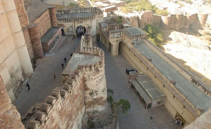 Крепость Мехрангарх - Mehrangarh fort, Jodhpur 24166