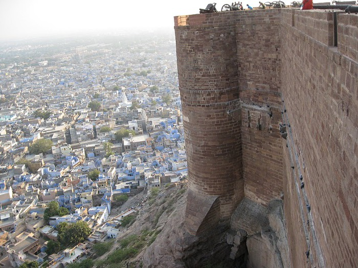 Крепость Мехрангарх - Mehrangarh fort, Jodhpur 80986