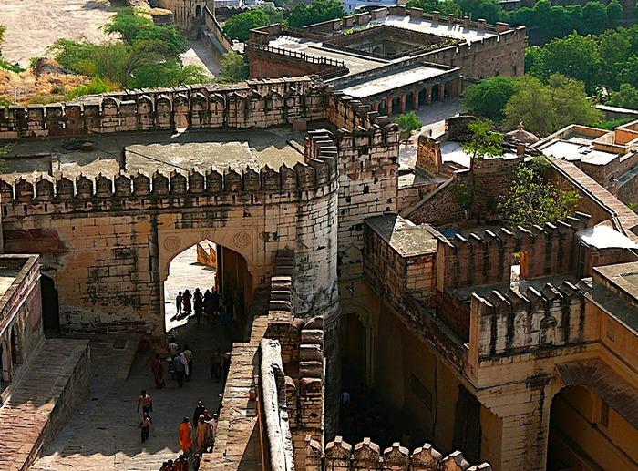 Крепость Мехрангарх - Mehrangarh fort, Jodhpur 48418