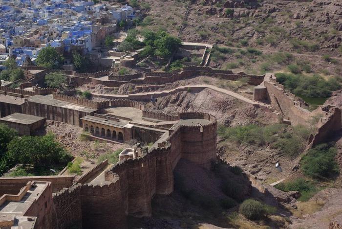 Крепость Мехрангарх - Mehrangarh fort, Jodhpur 46150