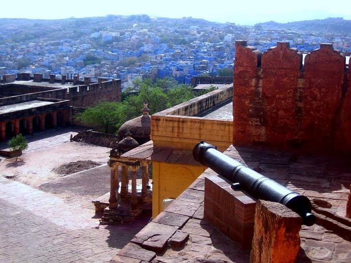 Крепость Мехрангарх - Mehrangarh fort, Jodhpur 92086
