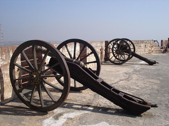 Крепость Мехрангарх - Mehrangarh fort, Jodhpur 88597