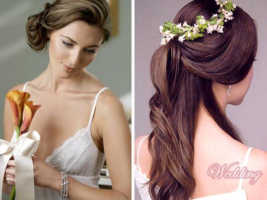 свадебные прически как их делать покажите