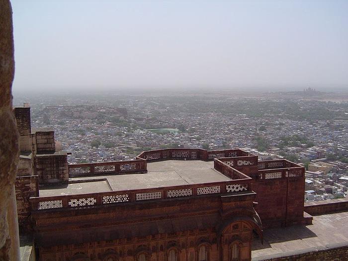 Крепость Мехрангарх - Mehrangarh fort, Jodhpur 76690