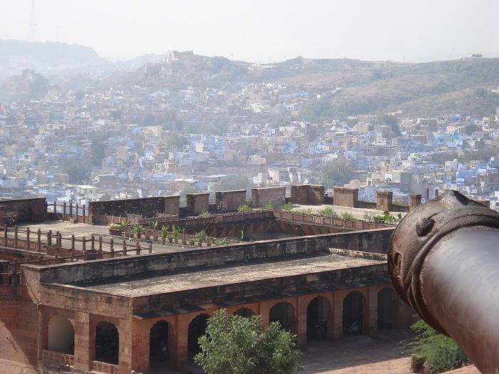 Крепость Мехрангарх - Mehrangarh fort, Jodhpur 29145