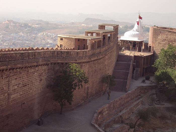 Крепость Мехрангарх - Mehrangarh fort, Jodhpur 86825