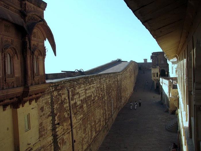 Крепость Мехрангарх - Mehrangarh fort, Jodhpur 68013