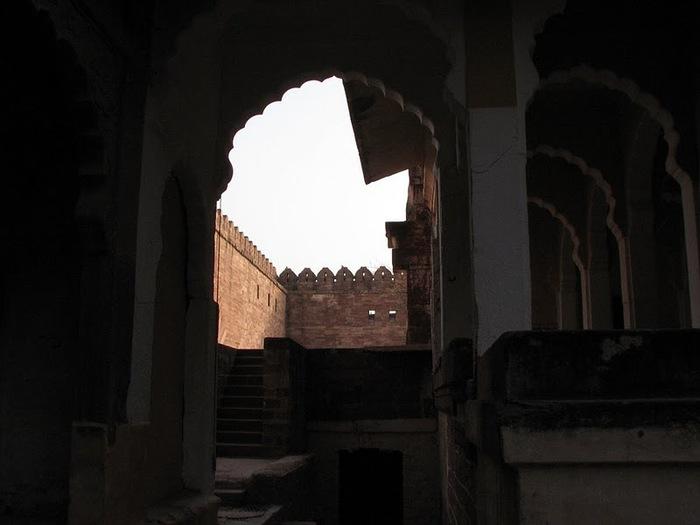 Крепость Мехрангарх - Mehrangarh fort, Jodhpur 80349