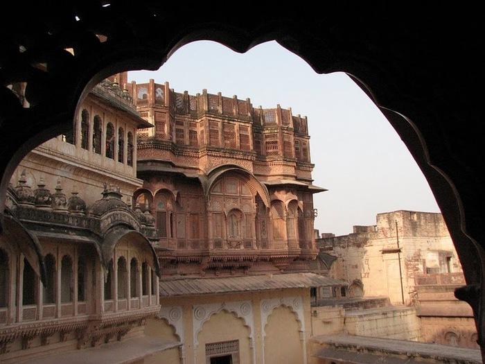 Крепость Мехрангарх - Mehrangarh fort, Jodhpur 71903