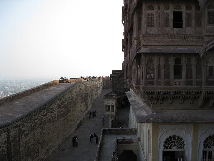 Крепость Мехрангарх - Mehrangarh fort, Jodhpur 13674