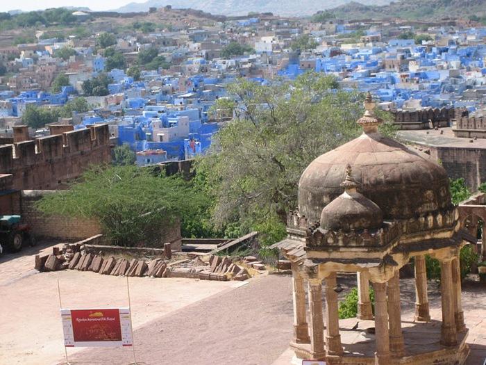 Крепость Мехрангарх - Mehrangarh fort, Jodhpur 58104