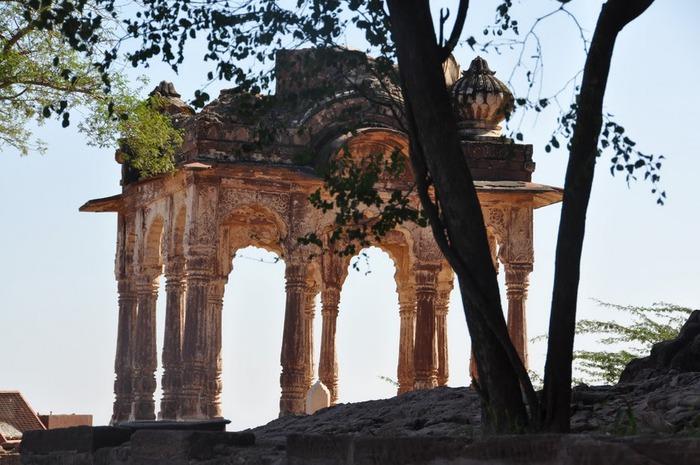 Крепость Мехрангарх - Mehrangarh fort, Jodhpur 59711