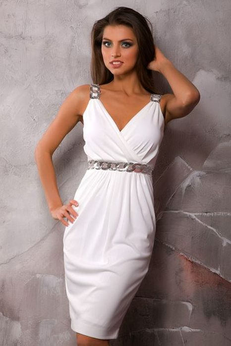 Белое платье бесплатно 1