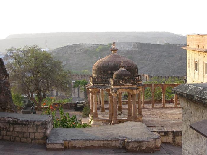 Крепость Мехрангарх - Mehrangarh fort, Jodhpur 70412