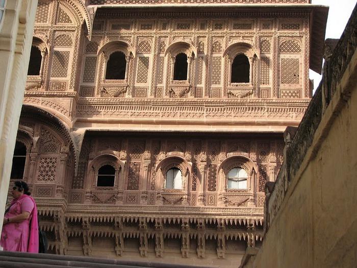 Крепость Мехрангарх - Mehrangarh fort, Jodhpur 53763