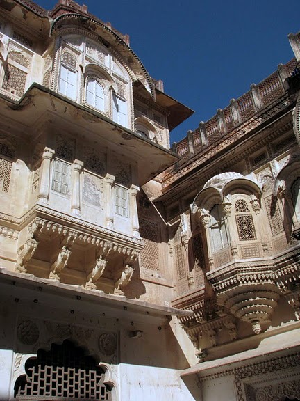 Крепость Мехрангарх - Mehrangarh fort, Jodhpur 50967