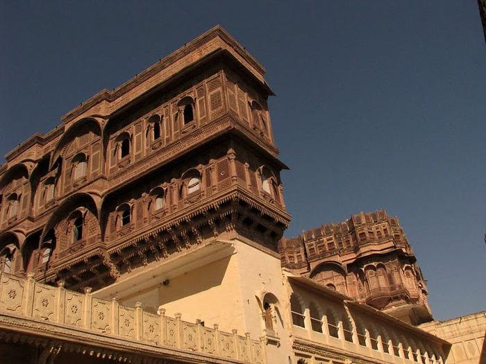 Крепость Мехрангарх - Mehrangarh fort, Jodhpur 19984