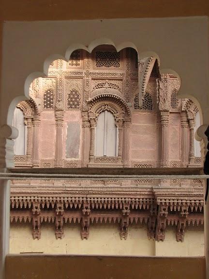 Крепость Мехрангарх - Mehrangarh fort, Jodhpur 88986
