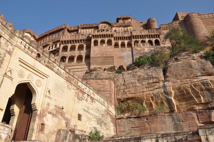 Крепость Мехрангарх - Mehrangarh fort, Jodhpur 87277