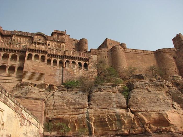 Крепость Мехрангарх - Mehrangarh fort, Jodhpur 99279