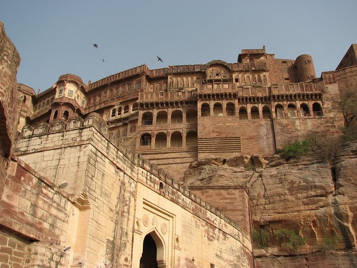 Крепость Мехрангарх - Mehrangarh fort, Jodhpur 64943
