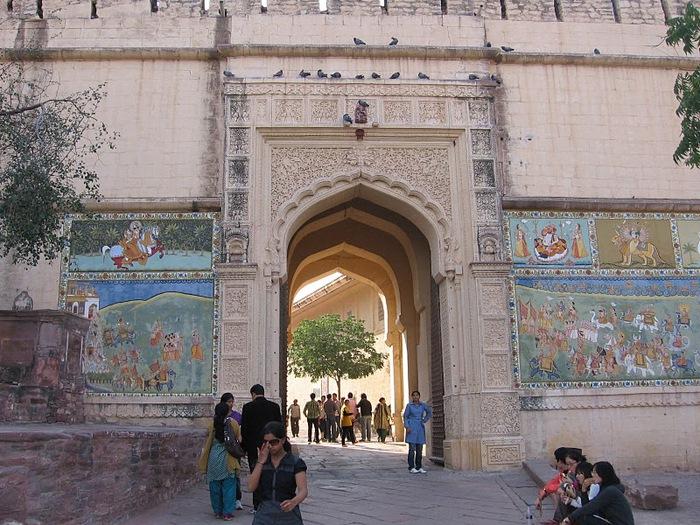 Крепость Мехрангарх - Mehrangarh fort, Jodhpur 14417