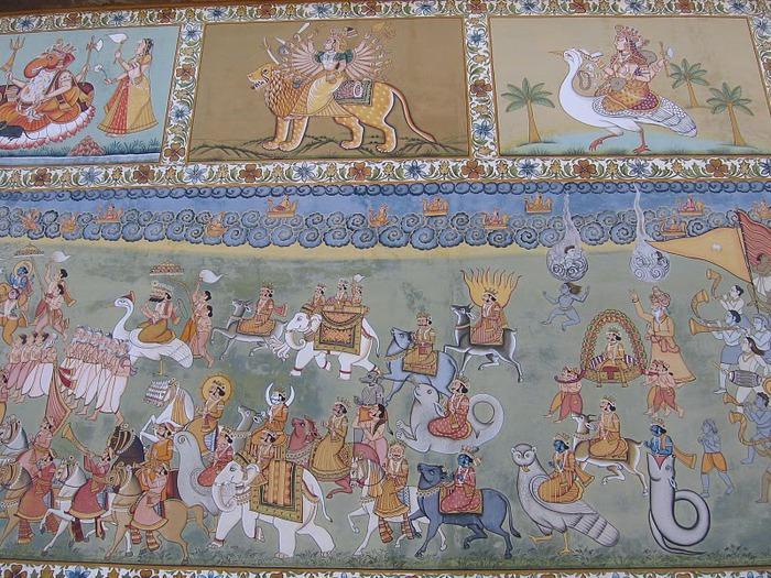 Крепость Мехрангарх - Mehrangarh fort, Jodhpur 90174
