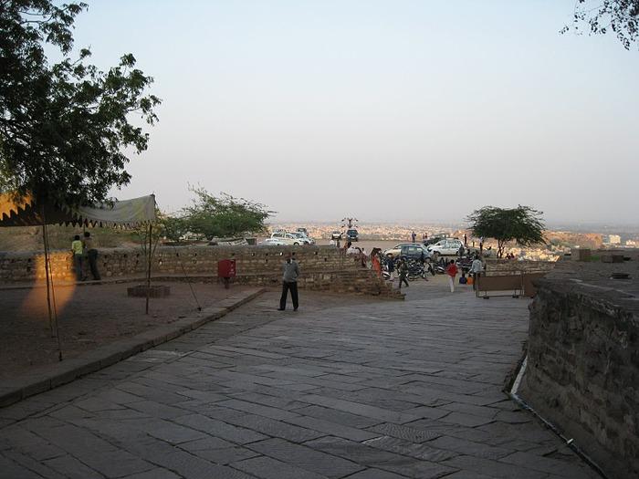 Крепость Мехрангарх - Mehrangarh fort, Jodhpur 67093