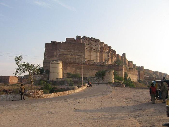 Крепость Мехрангарх - Mehrangarh fort, Jodhpur 46709
