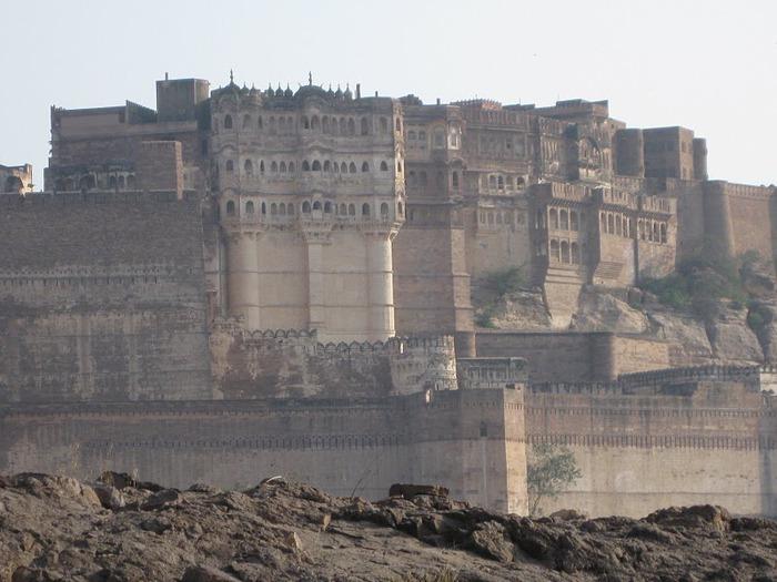 Крепость Мехрангарх - Mehrangarh fort, Jodhpur 94332