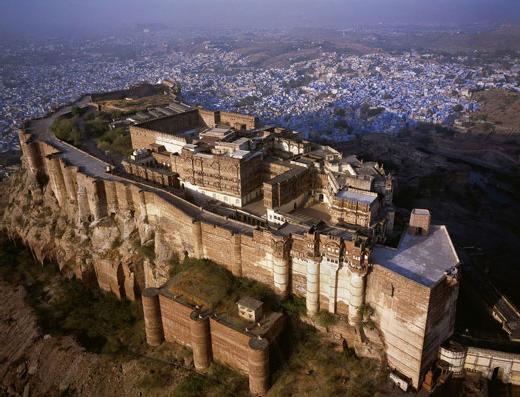 Крепость Мехрангарх - Mehrangarh fort, Jodhpur 90820