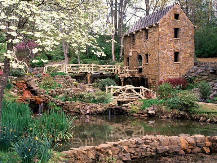 The Old Mill, North Littl Rock, Arkansas (700x525, 231Kb)