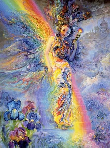 Iris / Irida   -   bohyňa dúhy, posolkyňa Bohov