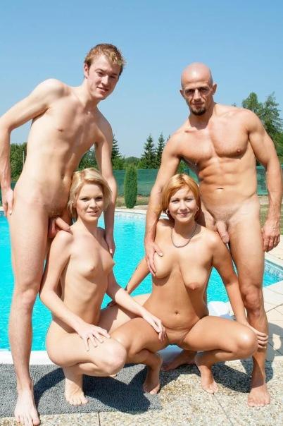 Развлечения голых людей